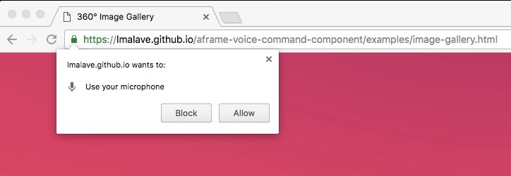 aframe-speech-command-component - npm